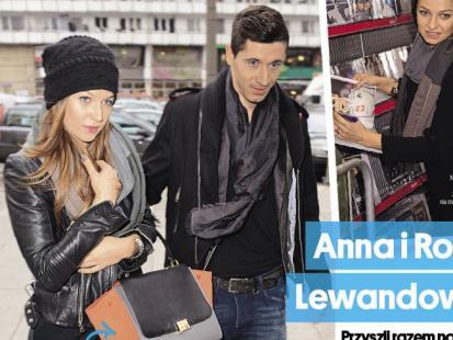 Anna i Robert Lewandowski - będą polskimi Beckhamami?