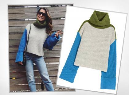 Anna Lewandowska w swetrze z H&M! Wiemy ile trzeba za niego zapłacić