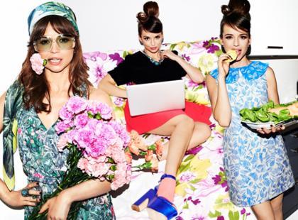 Anna Przybylska w kampanii klubu zakupowego Limango