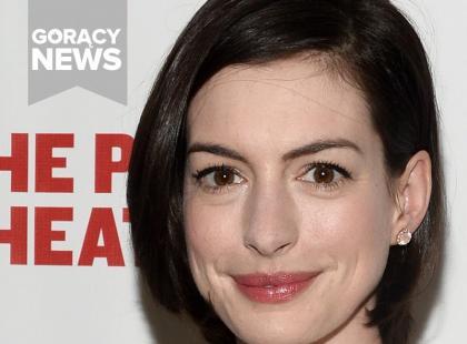 Anne Hathaway wrzuciła zdjęcie z ciążowym brzuszkiem. Jest już ogromny!