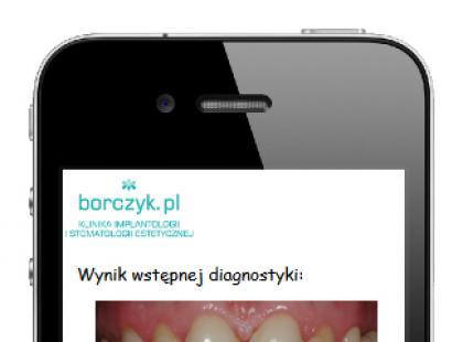 Aplikacja na smartfona DiagnoNET – Piękny Uśmiech