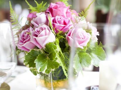 Aranżacje kwiatowe na stół