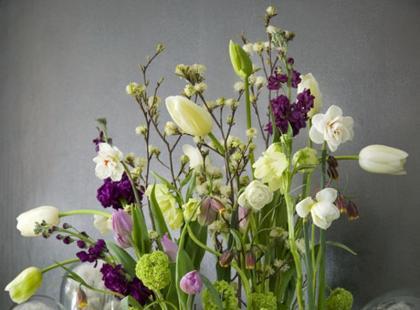 Aranżacje kwiatowe wiosna 2009