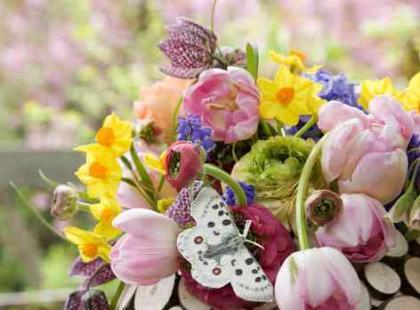 Aranżacje kwiatowe wiosna/lato 2010
