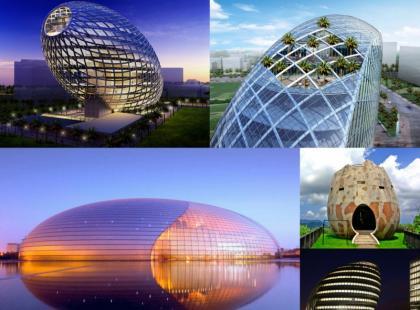 Architektura zainspirowana jajem