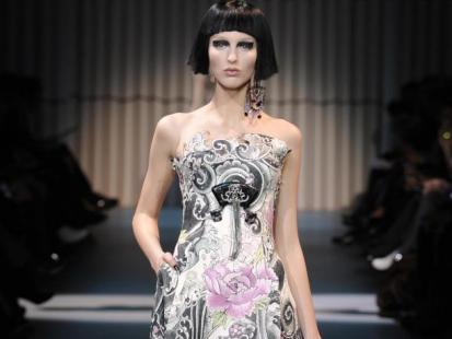 Armani haute couture 2009 (video)
