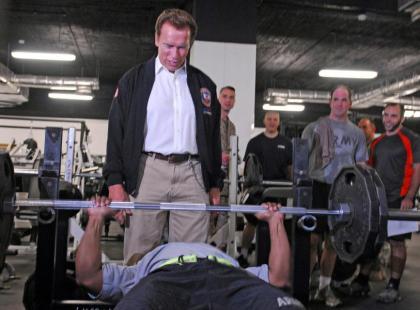 Arnold Schwarzenegger odwiedził dom rodzinny po 15 latach