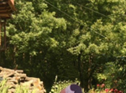 Asany stojące - pozycja skłon w przód (padahastasana)