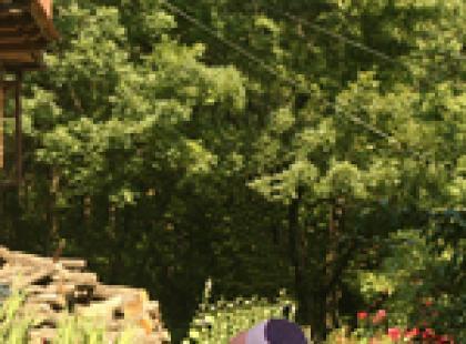 Asany stojące - pozycja skłon w przód (padangusthasana)