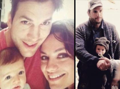 Ashton Kutcher oszalał na punkcie córeczki!