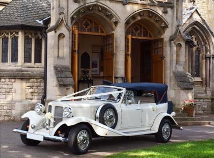 Auto ślubne - początek wspólnej drogi