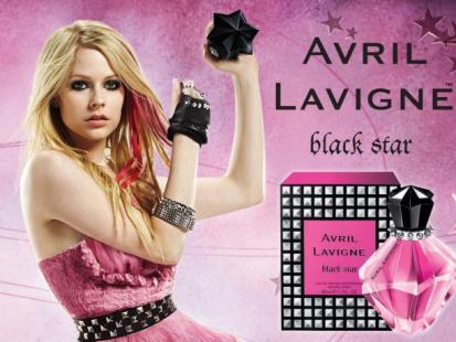 "Avril Lavigne w reklamie perfum ""Black Star"""