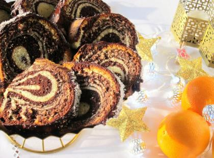 Babka-zebra na Boże Narodzenie - Kasia gotuje z Polki.pl