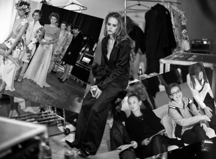 Backstage Gali finałowej 5 edycji Fashion Designer Awards