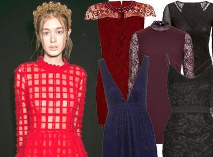 Bądź sexy! 27 koronkowych sukienek na walentynkową randkę