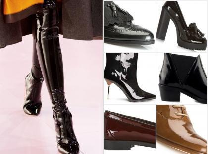 Bądź trendy, noś lakierowane buty - to jest hit!