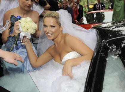 Bajkowy ślub Joanny Liszowskiej