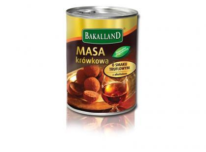 Bakalland - Masa krówkowa o smaku truflowym