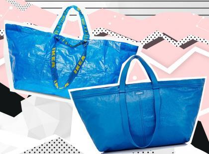 Balenciaga podrobiła kultową torbę IKEA. Nie zgadniecie ile kosztuje!