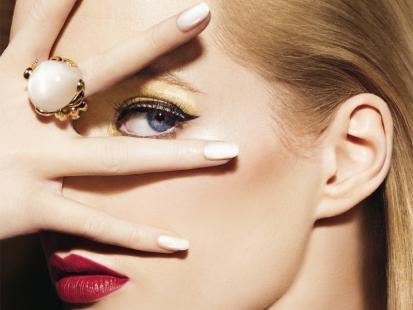 Balowy makijaż Diora na zimę 2013