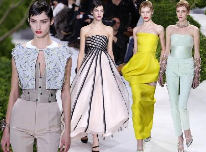 Baśniowe kreacje Haute Couture od Christiana Diora