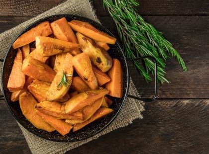 Bataty to egzotyczne ziemniaki zaskakujące wyglądem i smakiem! Zobacz, co możesz z nich przygotować!