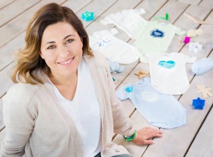 Beata Sadowska zaprojektowała nową kolekcję ubranek dla dzieci