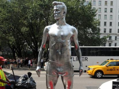 Beckham w bieliźnie na Manhattanie