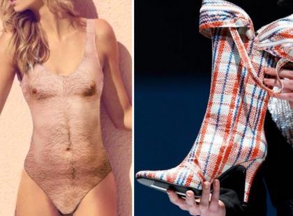 Będziesz zdziwiona! Oto 6 bardzo modnych, ale też bardzo brzydkich ubrań i dodatków...