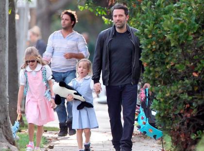 Ben Affleck - najlepszy hollywoodzki ojciec?