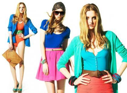 Bershka - stylizacje na lato 2011