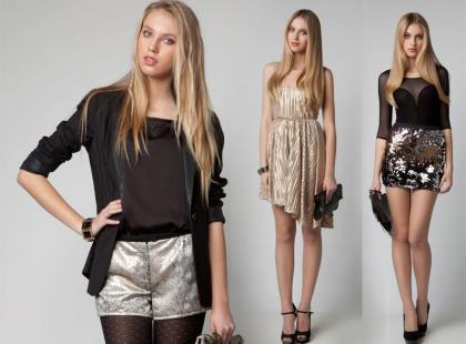 Bershka - sylwestrowy lookbook 2011
