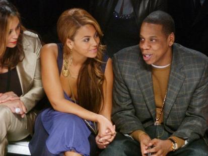 Beyonce z mężem i dzieckiem?