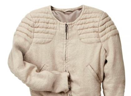 Beżowa kurteczka- H&M wiosna 2013