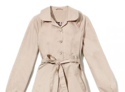 Beżowe płaszcze na wiosnę 2011