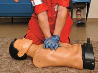 Bezpieczne lato - Pomoc gdy brak oddechu i oznak krążenia