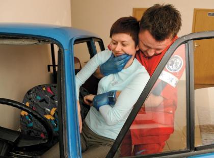 Bezpieczne lato - Pomoc przy wypadku drogowym