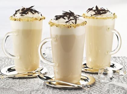 Biała czekolada na gorąco