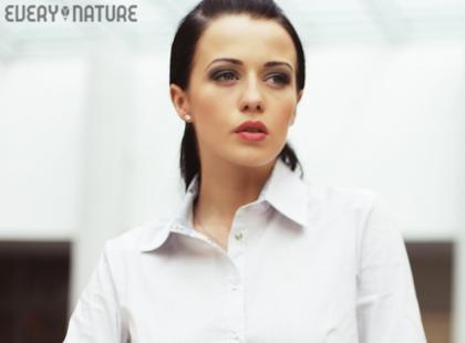 Biała koszula od podszewki