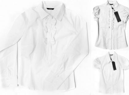 Białe koszule Nife