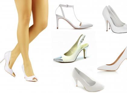 Białe szpilki - z mody ślubnej do ulicznej