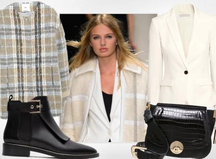 Biały garnitur w jesiennej odsłonie. Zobacz, jak go nosić!