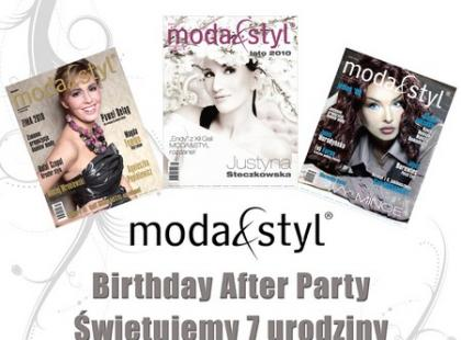 Birthday After Party - 7 urodziny magazynu Moda&Styl