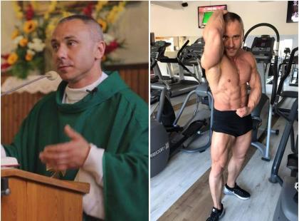 """Biskup skarcił księdza kulturystę za epatowanie ciałem, a ten przeprasza: """"Wywołałem zgorszenie"""""""