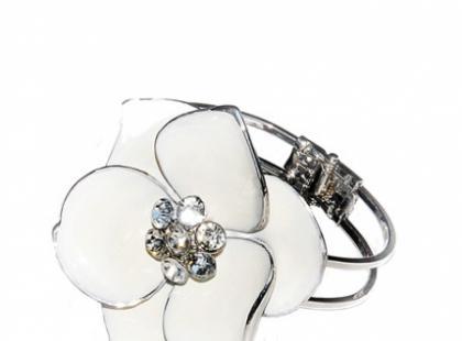 Bizuteria Silver White/ Wedding od Diva