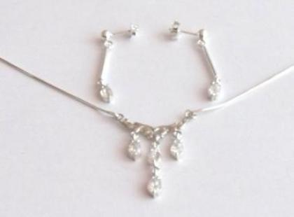 Biżuteria ze srebra z kamieniami ze sklepu Srebrnooka