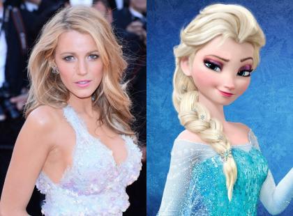 Blake Lively, Freida Pinto i inne... 8 hollywoodzkich aktorek, które do złudzenia przypominają księżniczki Disneya