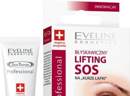 """Błyskawiczny lifting SOS na """"kurze łapki"""" - Eveline Cosmetics"""