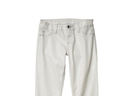 Błyszczące jeansy - C&A