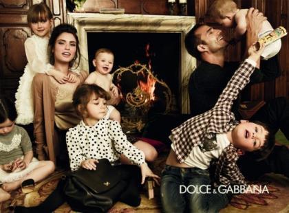 Bobasy w kampanii Dolce&Gabbana!